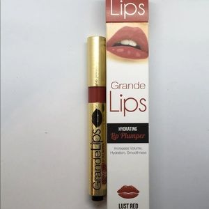 Other - New GRANDE LIPS hydrating lip plumper - Lust Red